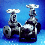 Iron Gate, Globe, and Check Valves, Sizes 2-24 in