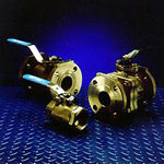 Industrial Ball Valves, Sizes 1/4-12 in